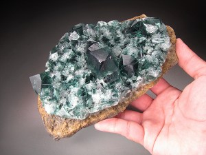 Fluorite Rogerley Mine Frosterley Durham County England Mineral Specimen For Sale