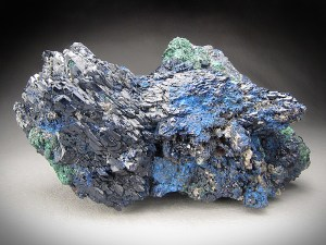 Azurite Crystals Shilu Mine Yangchun Guangdong Province China Mineral Specimen For Sale