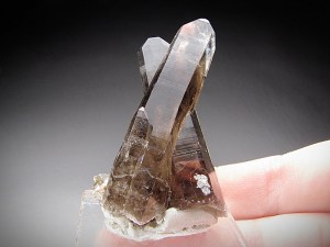 Smoky Quartz Crystals Lincoln County New Mexico Mineral specimen for sale