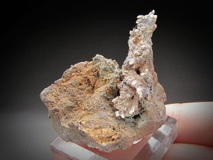 Mineral Specimen Native Silver Crystals Minesota Mine Ontonagon County Michigan For Sale
