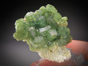 Mineral Specimen Demantoid Garnet Ambanja District Antsiranana Province Madagascar For Sale