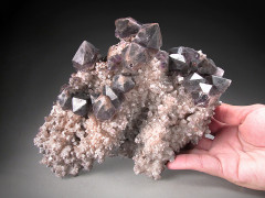 Smoky Phantom Quartz, Orange River, South Africa