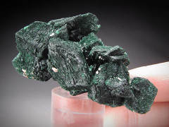 Malachite After Azurite Crystals, Milpillas, Sonora, Mexico