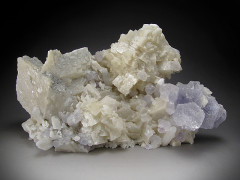 Dolomite and Fluorite Crystals, Shangbao Mine, China